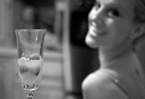 Bride & Champagne